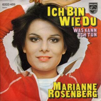 """Marianne Rosenberg - Ich Bin Wie Du (7"""", Single)"""