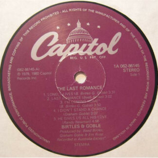 Birtles & Goble - The Last Romance (LP, Album)