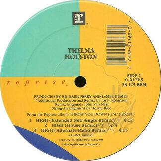 """Thelma Houston - High (12"""", Maxi)"""