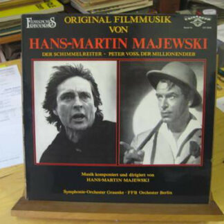 Hans-Martin Majewski - Der Schimmelreiter / Peter Voss, Der Millionendieb (LP)