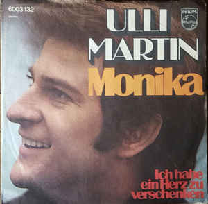 "Ulli Martin - Monika (7"", Single, Dar)"