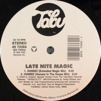 "Late Nite Magic* - Huneez (Special 12"" Mixes) (12"")"