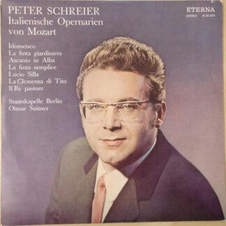 Peter Schreier, Mozart* - Italienische Opernarien Von Mozart (LP)