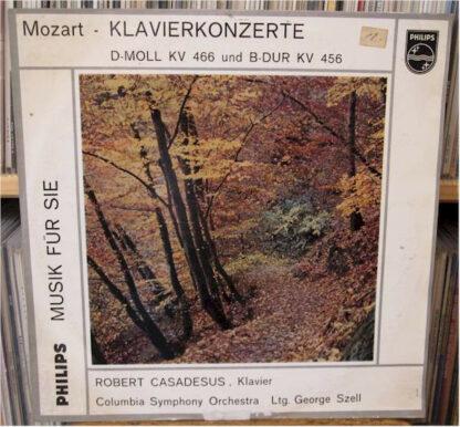 Mozart* - Mozart Klavierkonzerte D-Moll KV 466 und B-Dur KV 456 (LP)