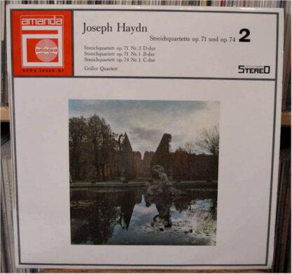 Joseph Haydn, The Griller String Quartet - Streichquartette op.71 und op.74 / 2 (LP, Album)