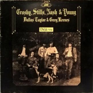 Crosby, Stills, Nash & Young - Déjà Vu (LP, Album, RE, Gat)