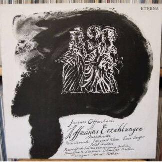 Jacques Offenbach - Hoffmanns Erzählungen (Opernquerschnitt) (LP, Album, Mono)
