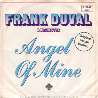 "Frank Duval & Orchestra - Angel Of Mine (7"", Single)"