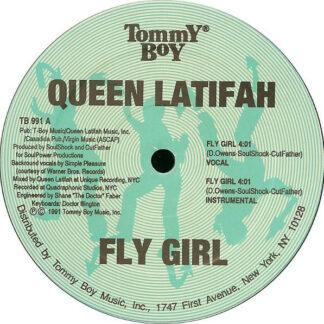 "Queen Latifah - Fly Girl / Nature Of A Sista' (12"")"