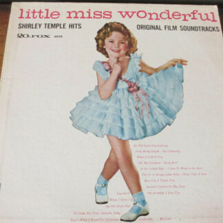 Shirley Temple - Shirley Temple's Hits (From Her Original Film Soundtracks) (LP, Album, Comp, RE)