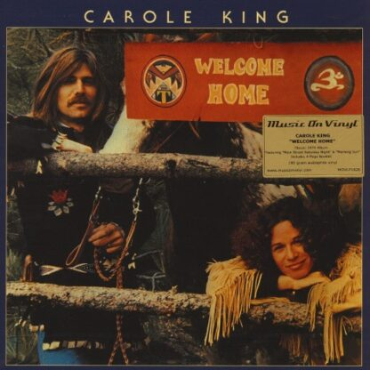 Carole King - Welcome Home (LP, Album, RE, 180)