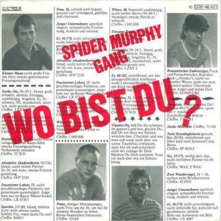 "Spider Murphy Gang - Wo Bist Du? (7"", Single)"