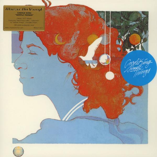 Carole King – Simple Things (LP, Album, RE, 180)