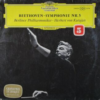 Beethoven* - Berliner Philharmoniker • Herbert von Karajan - Symphonie Nr.5 (LP, RP)