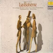 Alberto Erede, Giacomo Puccini - Puccini, La Bohème (LP, RE)