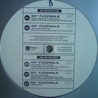 """Rockers Hi-Fi - 90º Fuzzwalk (12"""", Promo)"""