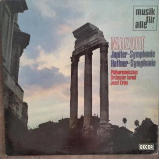 Mozart*, Philharmonisches Orchester Israel*, Josef Krips - Jupiter-Symphonie / Haffner-Symphonie (LP)