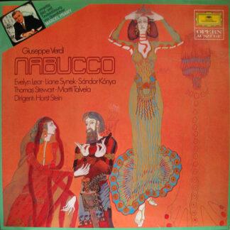 Giuseppe Verdi - Evelyn Lear, Liane Synek, Sándor Kónya, Thomas Stewart (2), Martti Talvela Dirigent: Horst Stein - Nabucco (LP, RE)