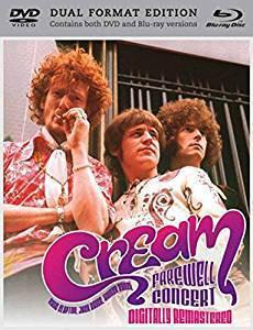 Cream (2) - Farewell Concert (Blu-ray, NTS + DVD-V, NTS)
