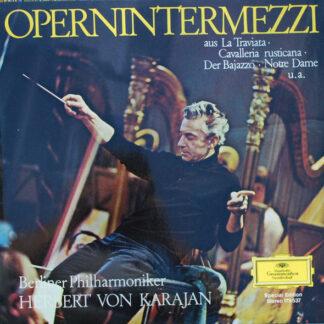 Berliner Philharmoniker, Herbert von Karajan - Opernintermezzi (LP, S/Edition)