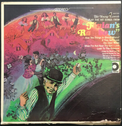 """The Young Lovers (2), Johnny Amoroso - Hit Songs From """"Finian's Rainbow"""" (LP)"""