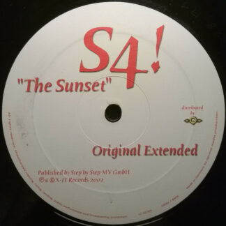"""S4!* - The Sunset (12"""")"""