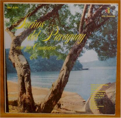 Los Comuneros - Sueños Del Paraguay (LP, Mono)