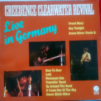 Creedence Clearwater Revival - Live In Germany (LP, Album, RE)