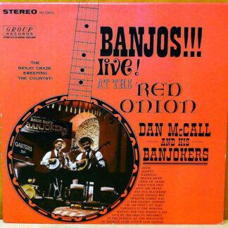 Dan McCall and his Banjokers - Banjos!!! Live! At The Red Onion (LP, Album)