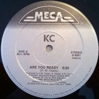 "KC (4) - Are You Ready / Don't Break My Heart (12"")"
