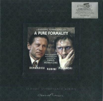 Ennio Morricone - A Pure Formality (LP, Album, Ltd, Num, RE, Cle)