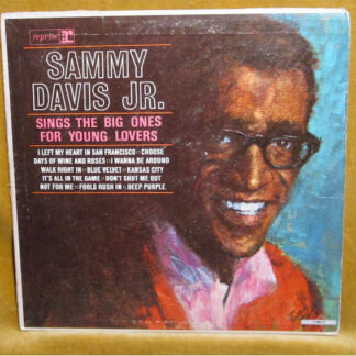 Sammy Davis Jr. - Sings The Big Ones For Young Lovers (LP, Album)