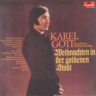 Karel Gott - Weihnachten In Der Goldenen Stadt (LP, Album, Gat)