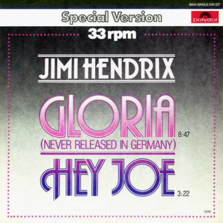 "Jimi Hendrix - Gloria / Hey Joe (12"", Maxi)"
