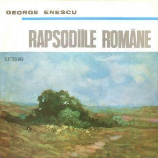 "George Enescu - Rapsodiile Române (10"", Mono, RE, RP)"
