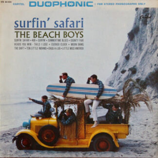 The Beach Boys - Surfin' Safari (LP, Album)