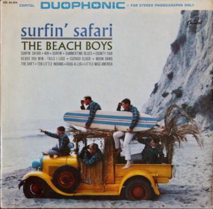 The Beach Boys - Surfin' Safari (LP, Album)