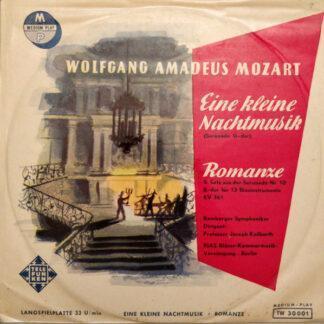 """Wolfgang Amadeus Mozart, Joseph Keilberth, Bamberger Symphoniker, RIAS Bläser-Kammermusik-Vereinigung, Berlin - Eine Kleine Nachtmusik - Romanze (10"""", Album)"""