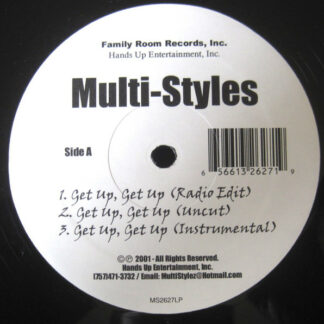 """Multi-Styles - Get Up, Get Up (12"""", Maxi)"""