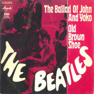 "The Beatles - The Ballad Of John And Yoko / Old Brown Shoe (7"", Single)"