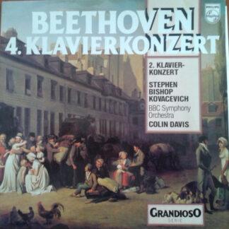 Beethoven*, Stephen Bishop Kovacevich*, BBC Symphony Orchestra, Colin Davis* - 4. Klavierkonzert  (LP, Album)