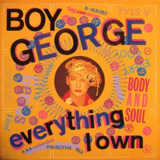 """Boy George - Everything I Own (12"""", Maxi)"""
