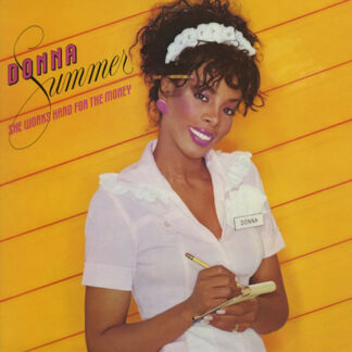 Donna Summer - She Works Hard For The Money (LP, Album)