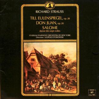 Richard Strauss - Stadium Symphony Orchestra De New York*, Leopold Stokowski - Till Eulenspiegel, Op. 28 / Don Juan, Op. 20 /  Salome, Danse Des Sept Voiles (LP, RE, Gat)