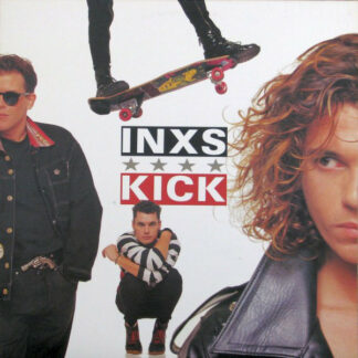 INXS - Kick (LP, Album, CR)
