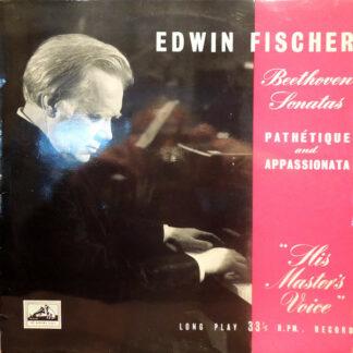 "Edwin Fischer, Beethoven* - Sonatas: ""Pathetique"" And ""Appassionata"" (LP, Mono)"