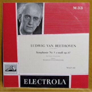 Ludwig van Beethoven, Die Wiener Philharmoniker*, Wilhelm Furtwängler - Symphonie Nr. 5 C-moll Op. 67 (LP, Mono)