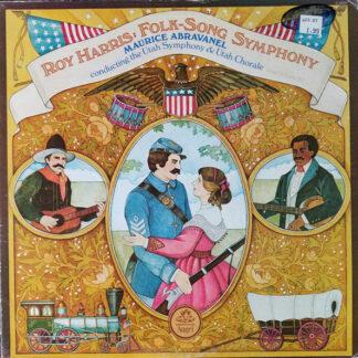 Maurice de Abravanel - Roy Harris: Folk-Song Symphony (LP, Album)