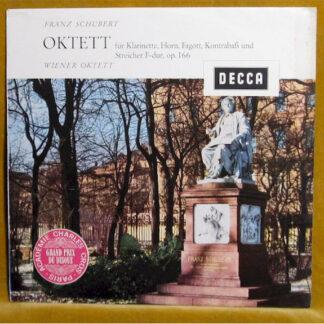 Schubert*, Wiener Oktett - Oktett Für Klarinette, Horn, Fagott, Kontrabaß Und Streicher F-dur, Op. 166 (LP)