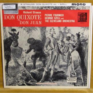Strauss*, Pierre Fournier, George Szell, The Cleveland Orchestra - Don Quixote / Don Juan (LP, Album, Mono)